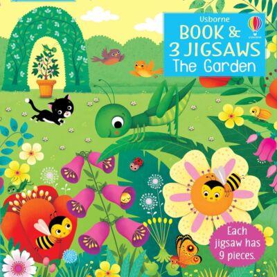 Book and jigsaw - The Garden