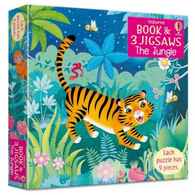 Book and jigsaw - The Jungle