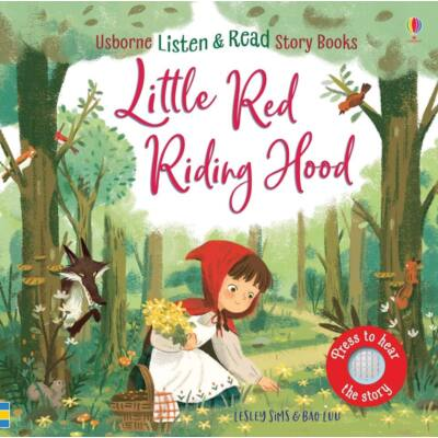 Listen and read story books - Little Red Riding Hood