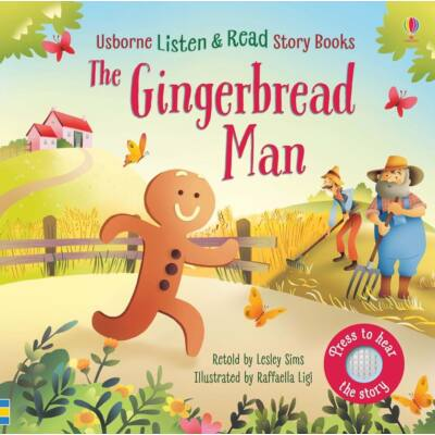 Listen and read story books - The Gingerbread Man