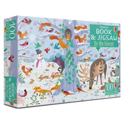 Book and jigsaw - In the forest