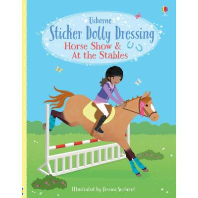 Sticker Dolly Dressing - Horse Show and At the Stables