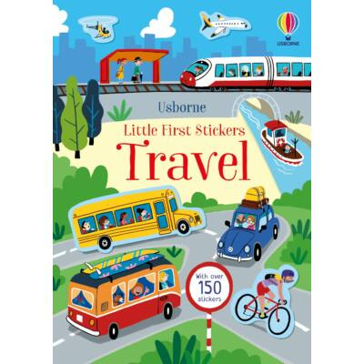 Travel Little First Stickers