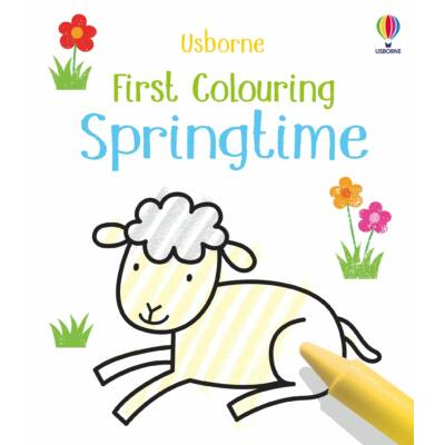 First Colouring Springtime