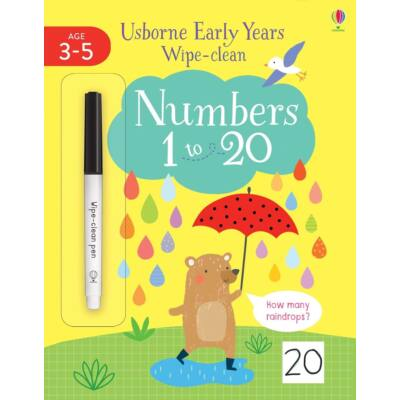 Early Years Wipe-Clean Numbers 1 to 20