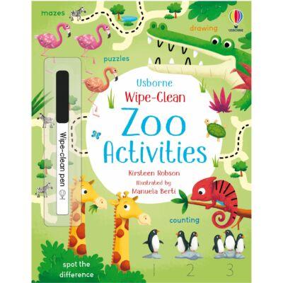 Wipe-Clean Zoo Activities