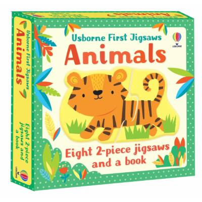 Usborne First Jigsaws: Animals