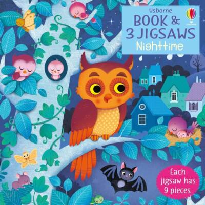 Book and jigsaw - Night Time