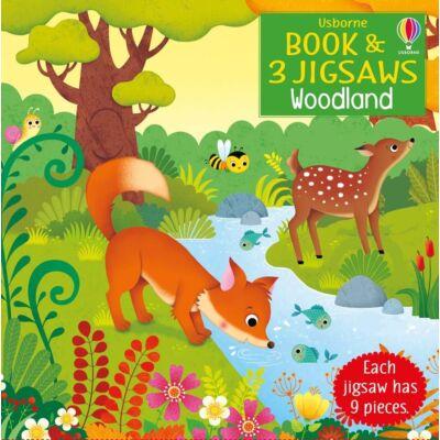 Book and jigsaw - Woodland