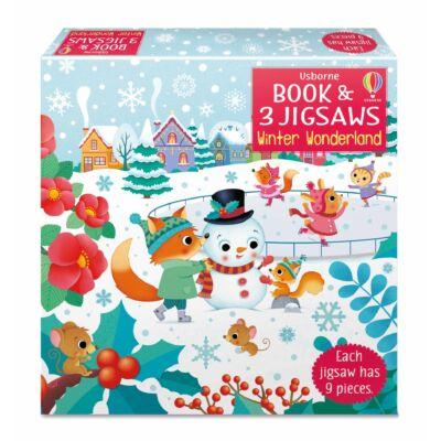 Book and jigsaw - Winter Wonderland